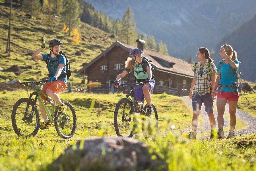 Biken in Flachau - Sommerurlaub Österreich - Appartements Winter