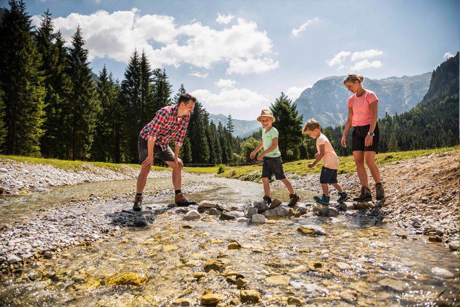 Wandern mit Kindern in Flachau - Sommerurlaub Österreich - Appartements Winter