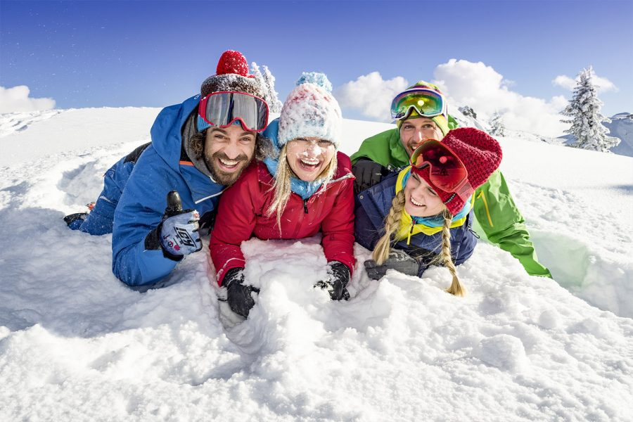 Spaß im Schnee - Flachau im Winter - Appartements Haus Winter