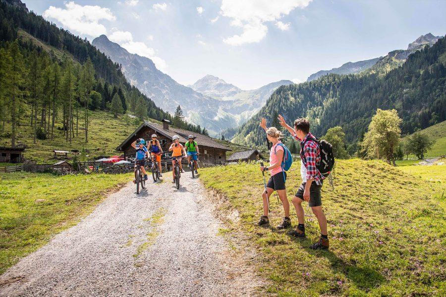 Wandern in Flachau - Sommerurlaub Österreich - Appartements Winter
